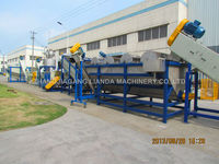 PE PP film recycling plant with CE certificate