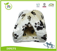 plush cat bed,deluxe OEM fleece cat house