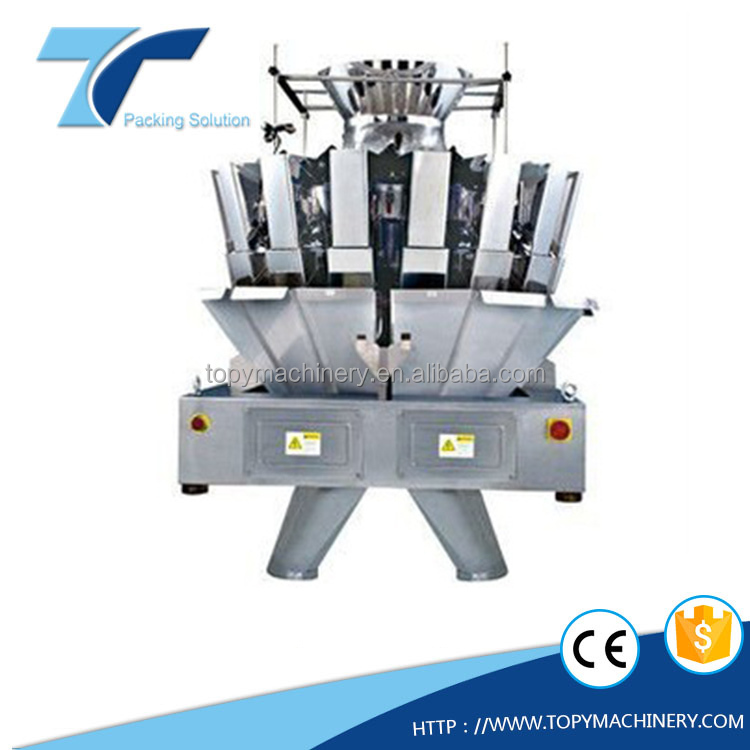 Semi Automatic SS Multihead Combination Weigh with Electronic Load Cell Based System