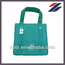 Non woven brown color shopping bag with printing