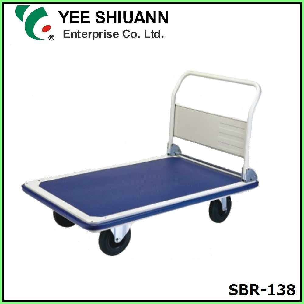 YEE SHIUANN 8inch plastic caster wheel heavy duty folding trolley cart