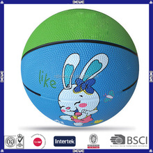 new style official size street rubber basketball
