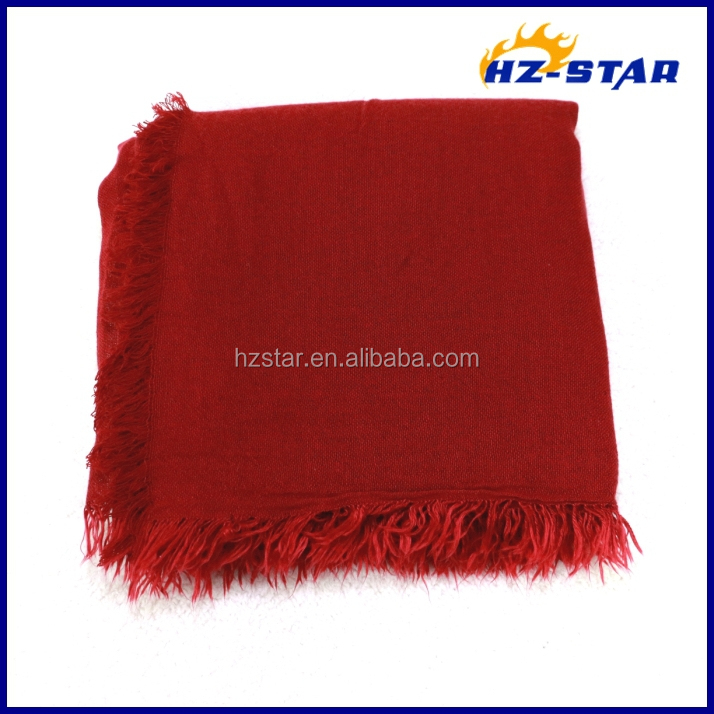 HZW-13466005 Fashionable indian women shawls wholesale wide winter scarf knitted