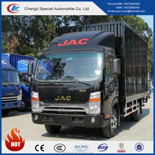 2017 New JAC 4x2 mini cargo van truck for sale