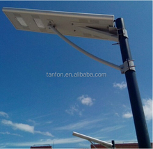 Solar led light system mobile control remote monitoring solar panel light system