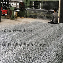 Anping Hexagonal Wire Mesh Wire Mesh Gabion Box For Preventing Flood