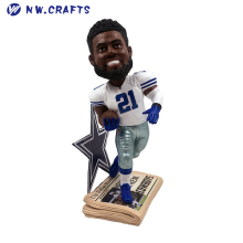 Ezekiel Elliott Ohio State University Buckeyes College Bobblehead Dallas Cowboys Superstar Football Bobble