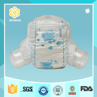 Clothlike Breathable baby like diapers in China