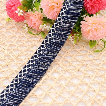 Asia fancy fringe material for cushion