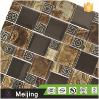 Factory price bathroom tile design zinc cladding panels for interior decoration 3d wall paper