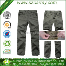 Quick dry outdoor detachable lightweight Army cargo air permeable polyester tactical pant