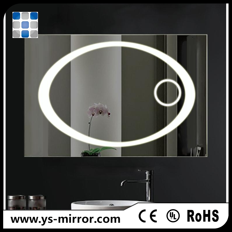 2017 beauty hair salon 3d led infinity mirror with color changing
