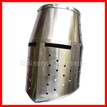 Medieval Knight's Helmet Closed Helm