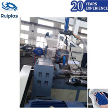 China double-screw industry plastic recycling machine price
