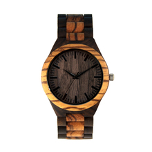 2017 hot selling wholesale wood watches men with quartz movement, natural waterproof bamboo wooden watch custom