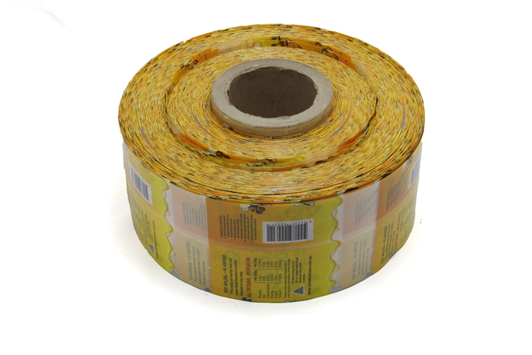Laminated Poly Dried Food Packaging Plastic Bag Rolls