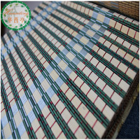 Latest design colored bamboo blinds