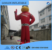 2016 giant inflatable fireman model for event,inflatable cartoon for advertising