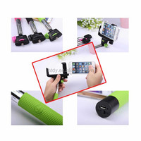 2015 cheap HOT WHOLESALE Z07-5 Wireless selfie shutter flexible monopod with bluetooth selfie stick