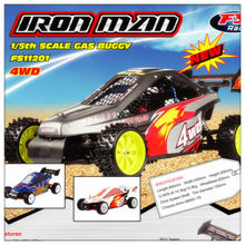 FS-11201 1/5 Scale 4WD Gas Buggy(Iron man) Red