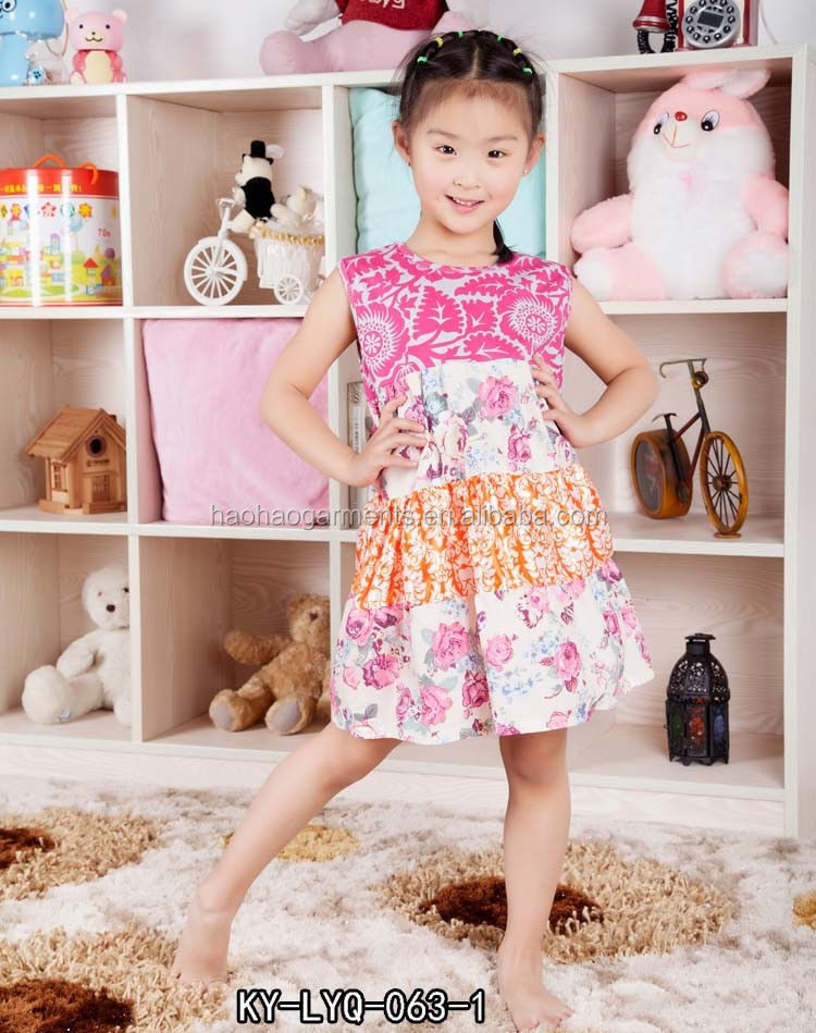 smocked children clothing wholesale baby hand made dresses 4 year old girl dress