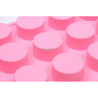 Wholesale 15 round silicone cake cylinder soap mould