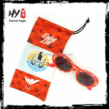 Gentle fashion custom sunglass pouches / italy design ce sunglasses pouch / sublimation bags