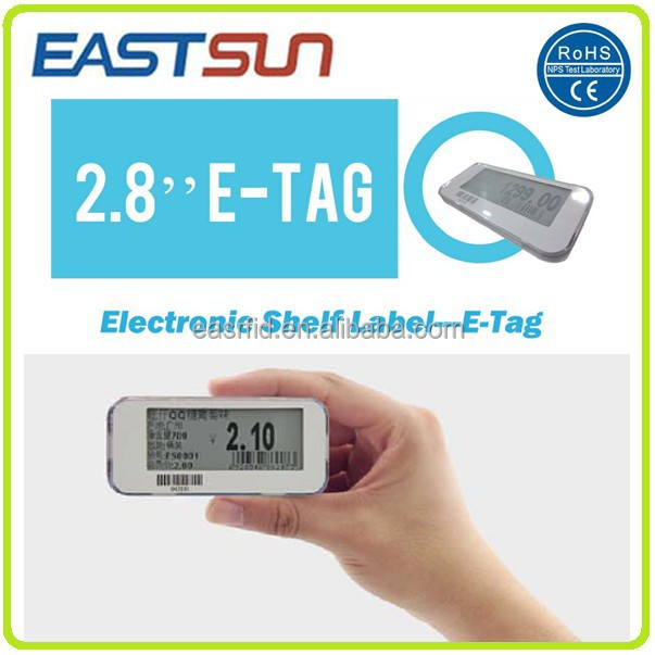 Electronic price tag E paper