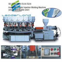 Automatic sole manufacturing machine pvc tpr plastic shoe injection moulding machine