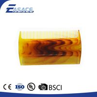 Professional round plastic hair combs