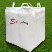 high quality 1000 kgs 1 ton 1.5 ton used pp plastic jumbo / big / bulk / flexible container /fibc bag and price size with logo