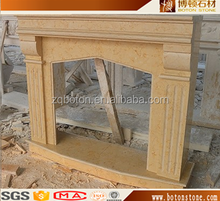 BOTON STONE indoor modeling simple marble fireplace