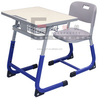 School Furniture Student Double Desk and Chair