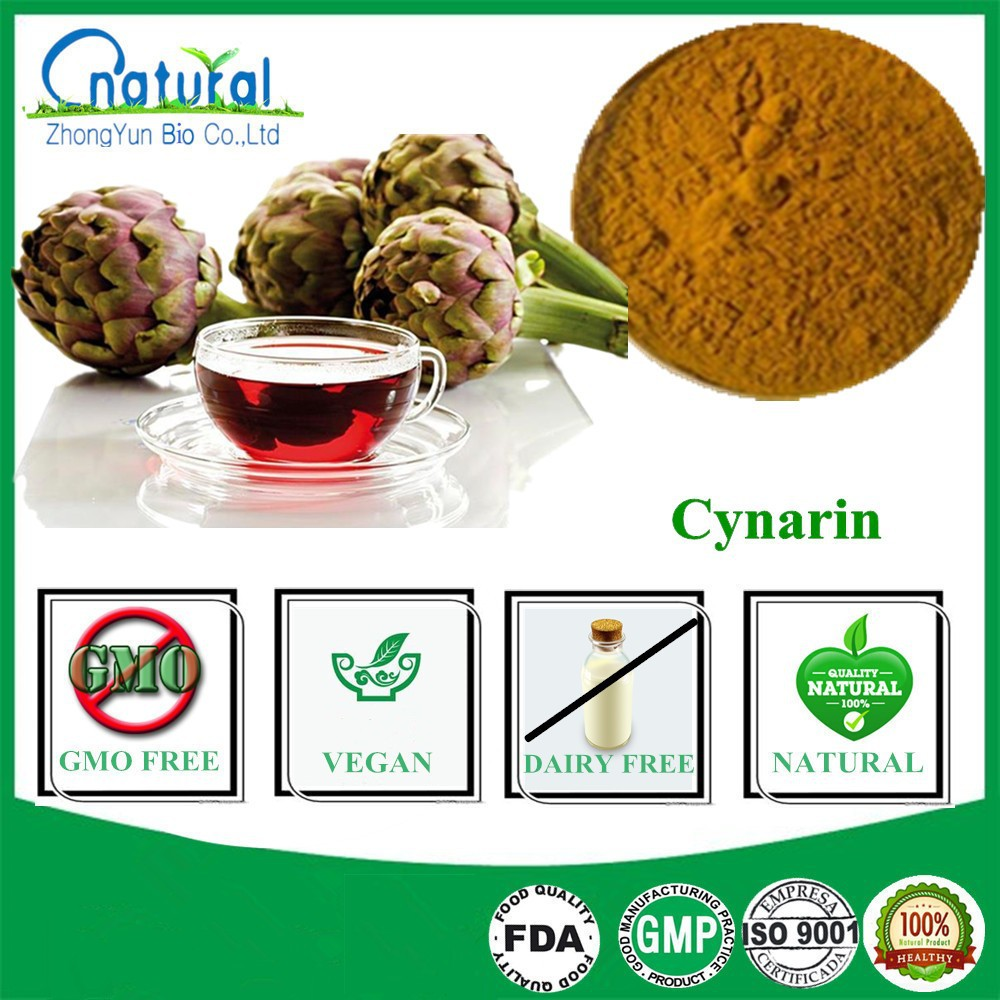Factory Price Pure Artichoke Extract Powder Cynarin