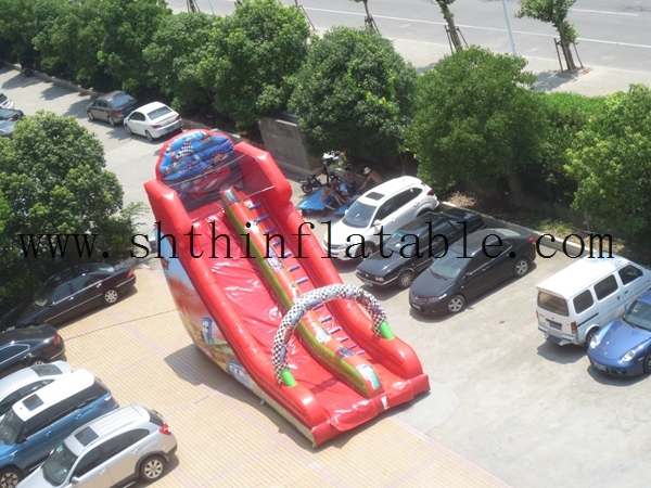 giant inflatable water slip slide for kids and adults