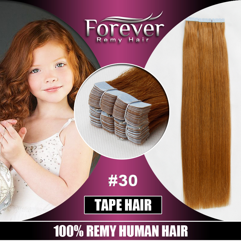 Customized Top Quality Brazilian Easy Removing Mini Flower Tape Hair Extensions