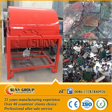 Scrap PCB printed circuit boards dismantling machine with exhaust gas processing system