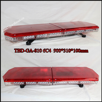 Ambulance car led red warning lightbar/Fire truck emergency roof mounted lightbar direct sale from factory TBD-GA-810 6C4