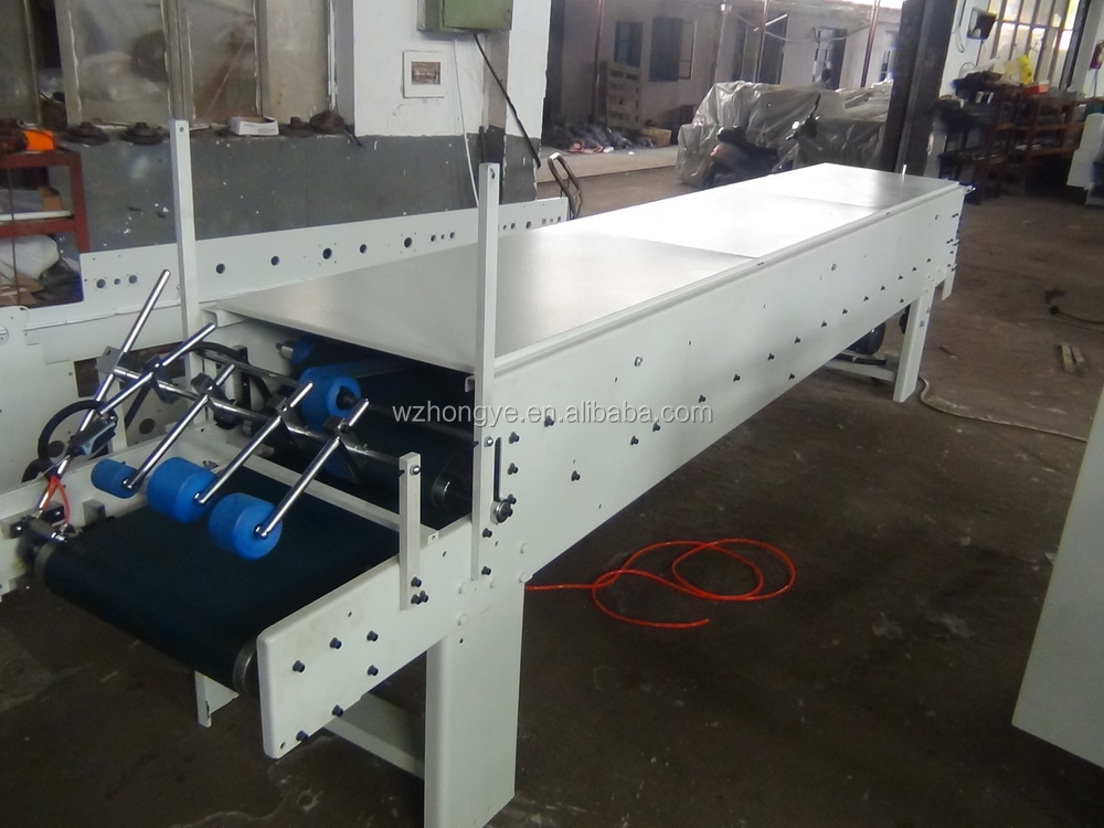 ZH-880PFT Automatic High Speed Folder Gluer Machine with CE certificate