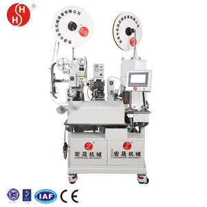 automatic waterproof inserting and terminal crimping machine HS-62312