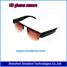 Cheap Mini DV Camcorder Sun Glasses with HD Camera Bluetooth for mp3 playing