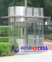 stainless steel security sentry box shed easy to assemble enviroment frendly GAT-GT12