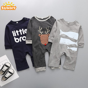 Low Price Organic Cotton Baby Rompers Wholesale Baby Clothes