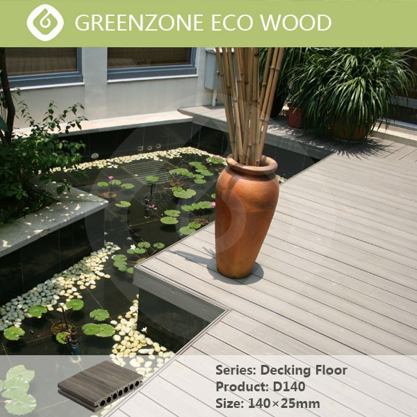 Non toxic faux wood floor materials wpc crack resistant for Non wood decking material