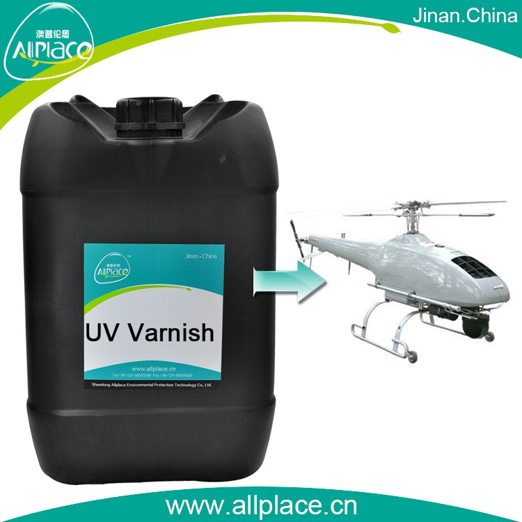 Clear flexible spraying paint uv coating on air plane coating