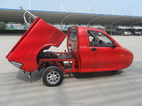 High quality 3 wheel tricycle for cargo DOT approved/ 600CC Petrol mini truck CE certified/3wheel motorcycle for cargo