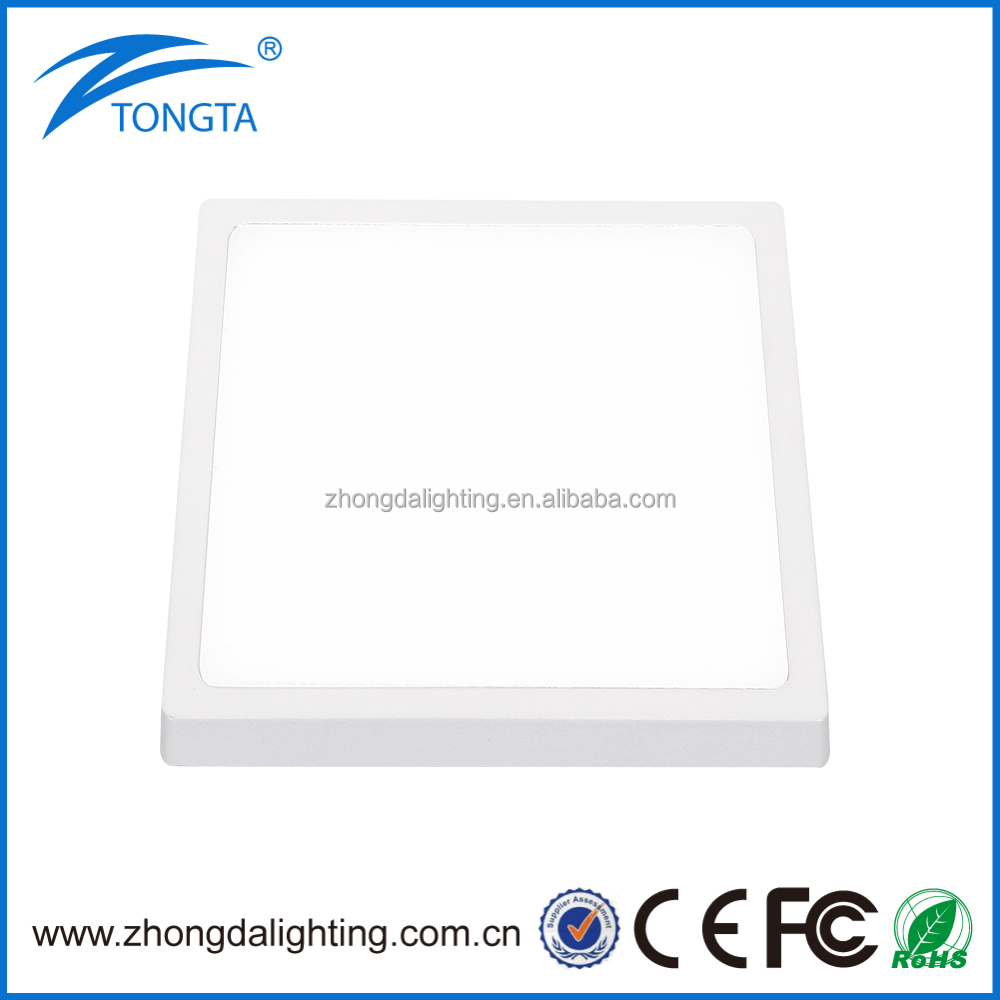 Square Led Panel Light With CE Driver 16w SMD4014 Art Panel Light Ultra-narrow Edge