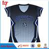 Wholesale custom sublimation full dye printing black baseball tops/jerseys