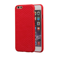 Free sample 3D Embossed PU Leather Cover Smartphone Case For iPhone/Samsung