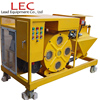 LH38ME oem cement plastering machine and peristaltic pump